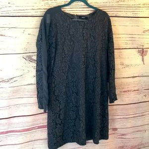 Madewell floral embroidered tunic